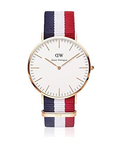 Daniel Wellington Reloj con movimiento Miyota Man DW00100003 blanco/gris