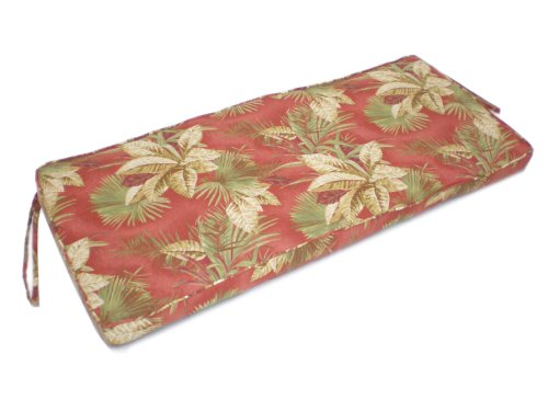 4 Foot Bench Cushion, Olive, Brick, Floral - Buy 4 Foot Bench Cushion, Olive, Brick, Floral - Purchase 4 Foot Bench Cushion, Olive, Brick, Floral (Lifestyle products, Home & Garden,Categories,Patio Lawn & Garden,Patio Furniture,Cushions Covers & Pillows,Patio Furniture Cushions)