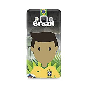 Mobicture Brazil Football Premium Printed Case For Samsung A7