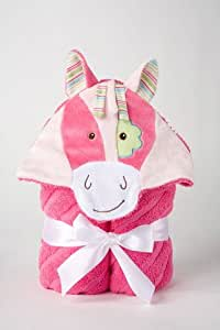 "Pink Horse Towel 28"" by Douglas Cuddle Toys"