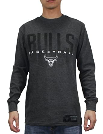 NBA Chicago Bulls Mens Athletic Long Sleeve Pullover T Shirt by NBA