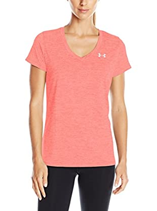 Under Armour Camiseta Técnica Techv Twist (Salmón)
