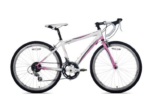 Giordano Libero 1.6 Girls' Road Bike (24-Inch Wheels)