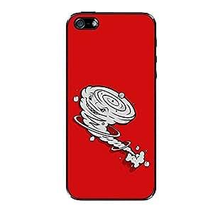 Vibhar printed case back cover for Apple iPhone 4 Tornado