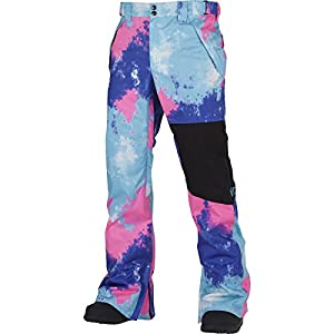 Airblaster AB/BC Pant - Men's Bright Tie Dye, L