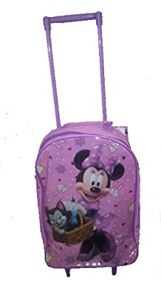 Disney Minnie Mouse Trolley Case Kids Hand Luggage by Disney