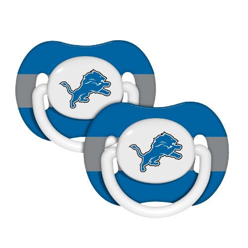 NFL Detroit Lions 2 Pack Pacifier at Amazon.com