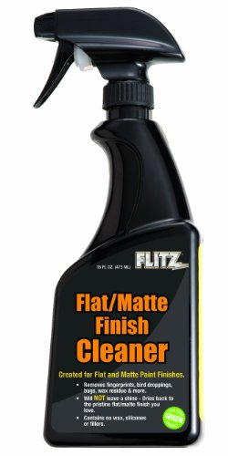 Flitz FM 11506 Flat Matte Finish Cleaner, 16 oz. Spray Bottle