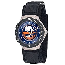 Game Time Unisex NHL-AGV-NYI New York Islanders Agent Velcro Series Watch