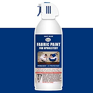 simply upholstery fabric spray paint navy blue 8oz. Black Bedroom Furniture Sets. Home Design Ideas