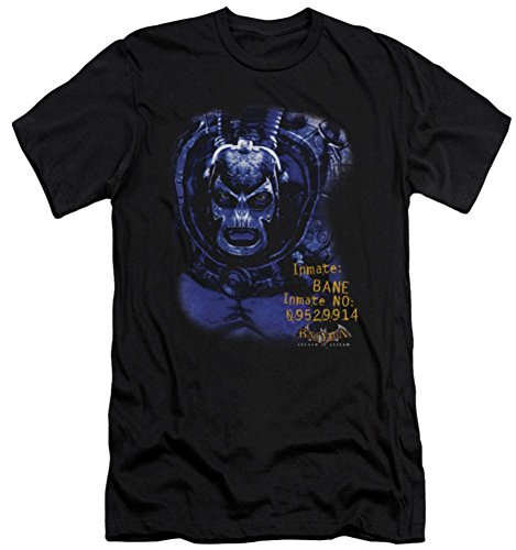 Arkham Asylum Bane Slim Fit T-Shirt