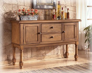 Cottage Dining Room Server by Famous Brand