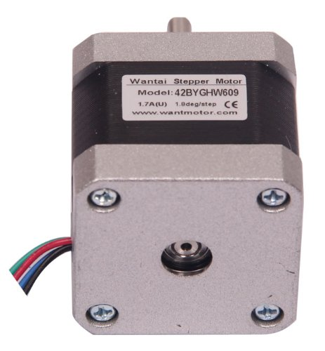 Signstek 3D Reprap Printer Cnc 40Mm Nema17 1.7A 3.4V 3400G.Cm 2 Phase Resistance 4 Leads Electric Stepper Motor Fan Motor Control