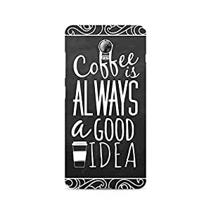 Ebby Coffee is always a good idea Premium Printed Case For Lenovo Vibe P1
