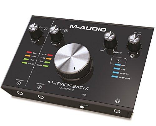 M-Audio 24bit/192kHz USB オーディオMIDIインターフェイス M-Track 2X2M