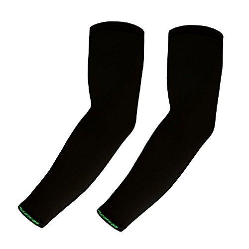 azaleas-1pair-new-premium-uv-cooling-arm-sleeves-unisex-cycling-basketball-black