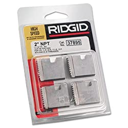 "RIDGID High-Speed RH Manual Threader Pipe & Bolt Die, NPT, 2"" - 11 1/2 TPI"