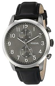 Fossil Men's FS4972 Analog Display Analog Quartz Black Watch