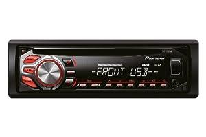 Pioneer DEH-1600UB Autoradios 200 W En Façade