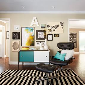 Simplify your decorating and organizing