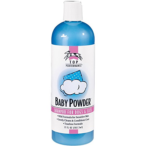 Top Performance Baby Powder Pet Shampoo, 17-Ounce