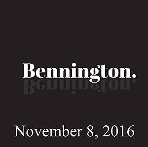 Bennington, November 8, 2016 Radio/TV Program