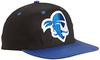 NCAA Seton Hall Pirates Primary Logo College Snap Back Team Hat, Black, One Size