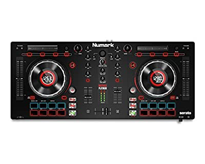Numark Mixtrack Platinum | 2-Channel DJ Controller with 4-deck Layering and Hi-Res Jog Wheel Display for Serato DJ from inMusic Brands Inc.