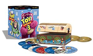 The Toy Story Trilogy: Ultimate Toy Box Collection [Blu-ray + DVD + Digital Copy]