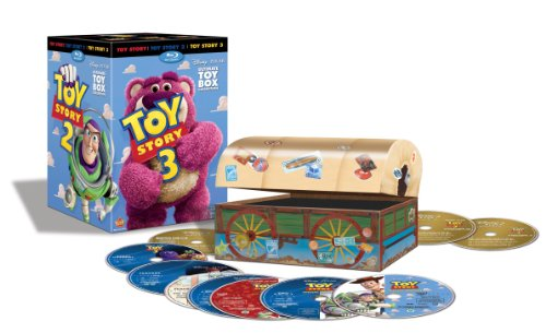 Toy Story Trilogy (10-Disc Blu-ray/DVD Combo + Digital Copy)-Walt Disney Video