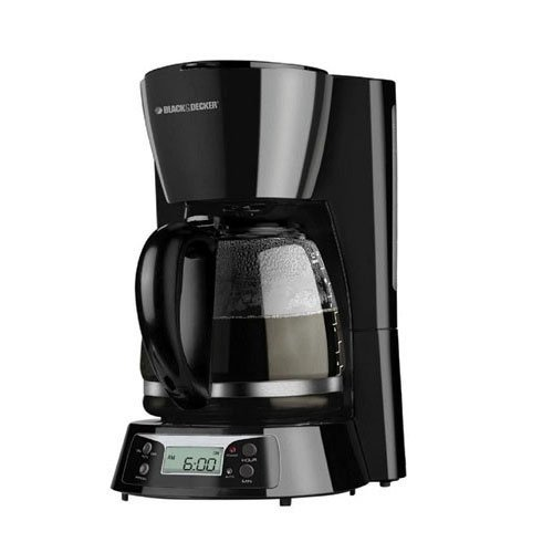 Black and Decker BCM1411B 220 Volt 240 Volt 50 Hz 12 Cup Coffee Maker ( NOT FOR USA OR CANADA)