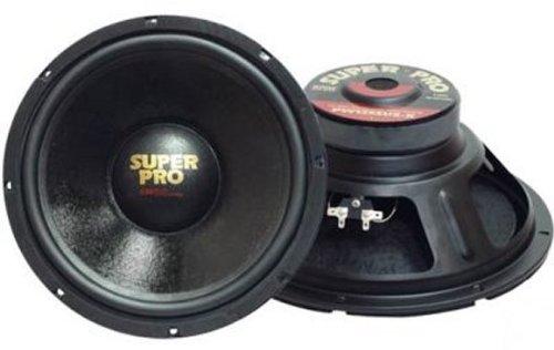 """2) Pyramid Pro Pw1048Usx 10"""" 1000W Car Audio Replacement Subwoofers Dj Sub 8 Ohm"""