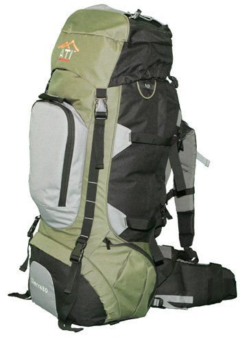 ATI Sierra80 80L Internal Frame Hiking Backpack