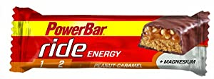 Powerbar Ride Riegel Peanut - Caramel, 18 x 55 g, 1er Pack (1 x 990 g Packung) from Powerbar