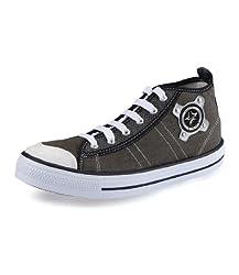 Unistar Men 3030 Green Canvas Sneakers Size 6 UK