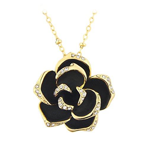 le-premiumr-elegante-black-rose-fiore-collana-pendente-di-cristallo-placcato-oro