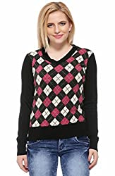 Fasnoya Women's Knitted Sweater
