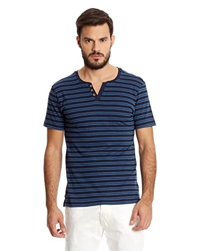 New Caro T-Shirt Manica Corta [Blu]
