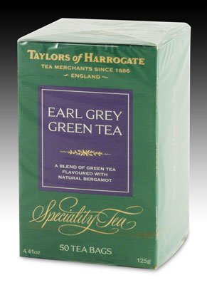 Taylors of Harrogate Earl Grey Green Tea -50 Tea Bags