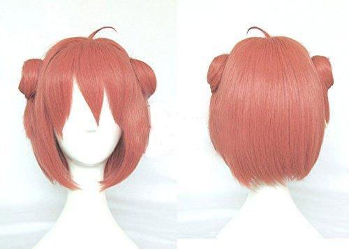 耐熱コスプレウィッグ ゆるゆり 赤座 あかり cosplay wig 変装用ウィッグ コスチューム  専用ネット付adcos