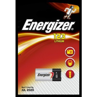 ENERGIZER CR123 CR17345 EL123AP DL123A Lot de 2 piles lithium