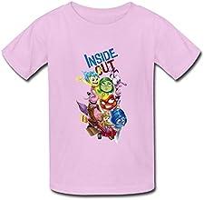 FUNSHIN Kids Inside Out Cartoon Movie T-shirt