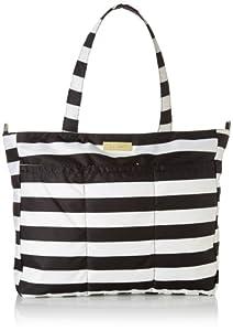 Ju-Ju-Be Super Be Zippered Tote Diaper Bag with 9 Pockets by Ju-Ju-Be