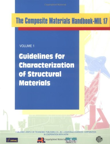 Composite Materials Handbook-Mil 17, Volume I: Guidelines For Characterization Of Structural Materials