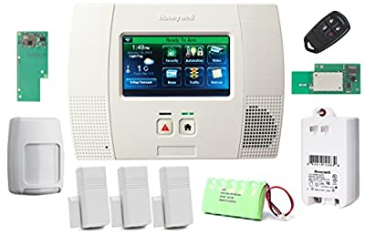 Honeywell Wireless Lynx Touch L5200 Home Automation/Security Alarm Kit with Wifi and Zwave Module