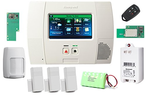 Honeywell Wireless Lynx Touch L5200 Home Automation/Security Alarm Kit with Wifi and Zwave Module (Honeywell L5200 Security System compare prices)