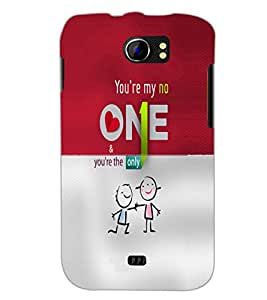 PrintDhaba Quote D-4912 Back Case Cover for MICROMAX A110Q CANVAS 2 PLUS (Multi-Coloured)
