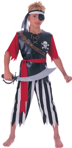 Pirate King Boys Costume L L - 1