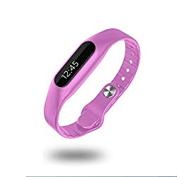 Universal Buying Healthy Bluetooth Bracelet,E06 Waterproof IP67 Touch Screen Smart Bluetooth Bracelet Wristband Fitness Wearable Tracker Bluetooth Watch for IPhone and Android by Universal Buying