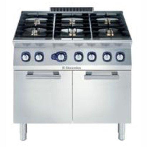 Electrolux 6 Burner Oven Range - 371173 - 800(w)730(d)850(h)mm - Pack Size: Single